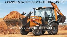 Retroescavadeira Case Parcelado!!
