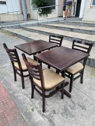 Título do anúncio: Vendo jogos de mesas e cadeiras para restaurante