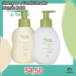 Título do anúncio: Shampoo e condicionador mamãe bebê por apenas 54,50