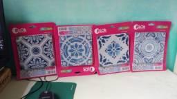 4 Pacotes de Adesivos portugueses