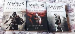 Livros Assassin's Crees - 3 edições