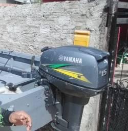 Título do anúncio: Motor de popa  15 hp yamaha