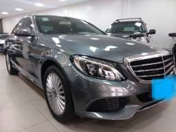 Mercedes C180 Exclusive 9G Tronic 2018. Km só 12 mil