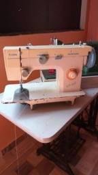 Maquina de costura zig zag doméstica