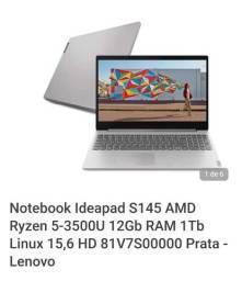 Título do anúncio: Notebook Ideapad S145 AMD Ryzen 5-3500U Lenovo