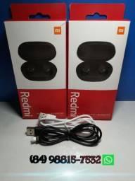 Fone de ouvido Bluetooth 5.0 Xiaomi Redmi Airdots 2 *ORIGINAL*
