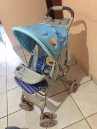 Carrinho, bebê conforto e andador
