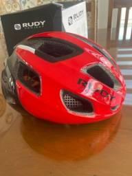 Capacete Rudy Project Strym Tam M vermelho