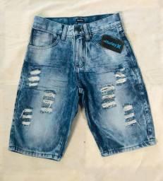 bermuda jeans em atacado