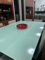 Tampone vidro de mesa laqueado