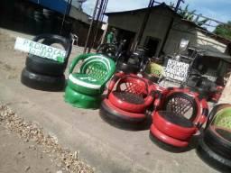Título do anúncio: Cadeira de pneu