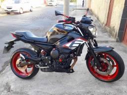 Título do anúncio: Xj6 2013, melhor q MT 07, z750, Hornet, aceito motos menor, financio, leiam anúncio todo