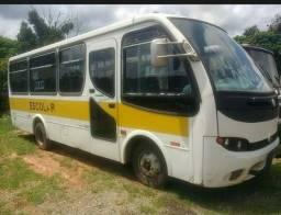 Micro ônibus 2002 mwm 8.150 com 33 Lug w8 ano 2007 21L, micro 2009 volare w12 - 2007