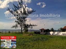 Mota Imóveis - Tem em Praia Seca Lindo Terreno 480m² Condomínio Fechado Frontal para Lagoa