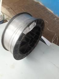 Rolo arame de solda mig aluminio