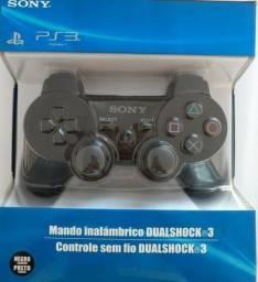 Controle PS3 Sony sem fio