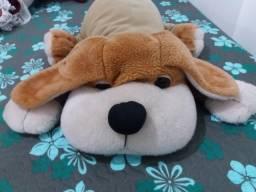 Cachorro de Pelúcia 40 cm - Marrom, novo.