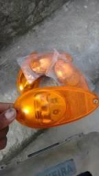 Varias lanternas e lâmpadas de 24 wolt