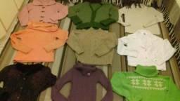 Lote de roupas para Brechó 170peças