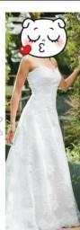 Vestido de Noiva da Assuf (Renda francesa bordada com Cristais Swarovski)