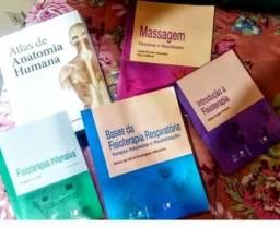 Livros para alunos de fisioterapia