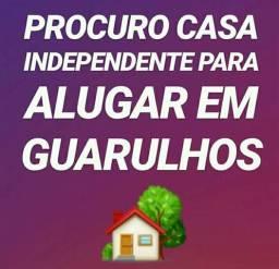 Procuro casa totalmente independente
