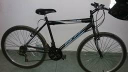 Vendo bicicleta com menos de um mês de uso.