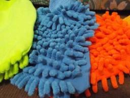 Luva de Limpeza Microfibra