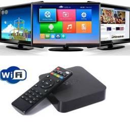 Tv Box Android Mxq Mx9 4k Transforma Tv Em Smart Entrega Grátis Aceito Cartão