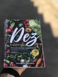 Livro de Receitas Vegetariana estrita, e saudáveis e saborosas! Sem óleo. (
