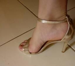 Sandália de festa