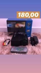 Mini projetor (até 80 polegadas)