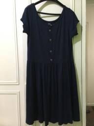 Vestido Azul Marinho NOVO - tam G e outro GG