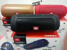 Caixa de som Charge2 Jbl Média