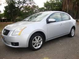 Nissan sentra 2.0 s automatico - 2008 - completo + couro - veja - oferta - 2008