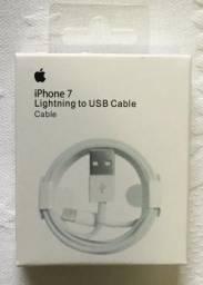 Cabo Lighting iPhone 7 USB 1 Metro Novo na Caixa