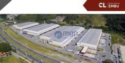Galpão para alugar, 91 m² por R$ 23,00/mês - Centro - Embu das Artes/SP