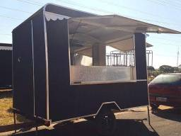 Vendo trailer food truck 3x2 novo 0km