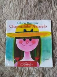 Livro Chapeuzinho Amarelo - Chico Buarque