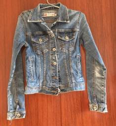 Jaqueta jeans estilo vintage