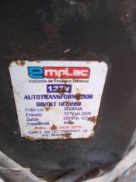 Vendo transformador para 220v
