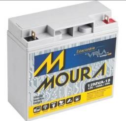 Título do anúncio: Baterias  NOBREAK moura  estacionária,baterias  com tecnologia vrla