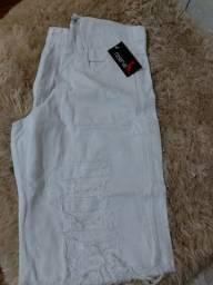 Promoção de bermudas masculinas jeans