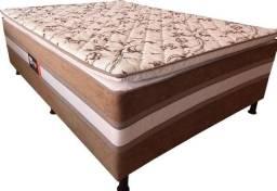 Cama Casal Acoplada c/ Pillow Top NOVA