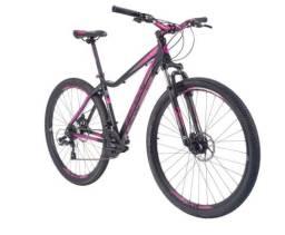 Bicicleta Aro 29 Tsw Posh T/17,5 21v Shiamano preto/Rosa [Nova com NF]