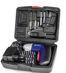 Parafusadeira BR Motors BRP3.6 à Bateria com Maleta 3.6V Carregador Bivolt Frete Gratis