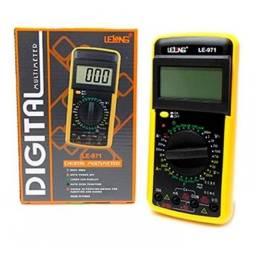 Multímetro digital portátil le-971- lelong