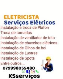 ELETRICISTA serviços elétricos