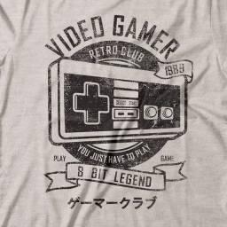 Camiseta Gamer Retrô Club