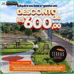 Loteamento Terras Horizonte Bairro Planejado ao lado do centro R$169,70